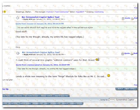 Screenshot Captor - DonationCoder com