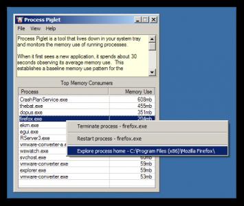 Process Piglet - DonationCoder com