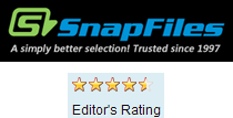 Snapfiles.com user review image