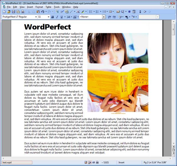 typing instructions for a research paper on word perfect